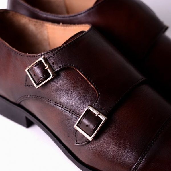 Leather Formal Shoes Brown